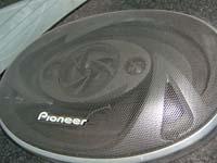 Установка акустики Pioneer TS-A6916 в VAZ 2110