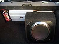 Установка сабвуфера Rockford Fosgate P3D412 box в VAZ 21134