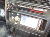 Фотография установки магнитолы Supra SDD-4001 в VAZ 2114